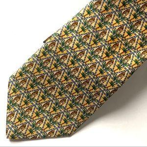 Salvadore Ferragamo Silk Tie